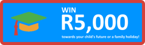 WIN R5,000 in prizes!