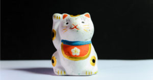 Chinese cat ornament