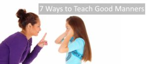7 Ways to Teach Good Manners South Africa