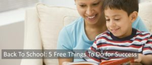 Back To School: 5 Free Things To Do for Success SA