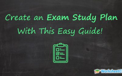 Create an Exam Study Plan With This Easy Guide