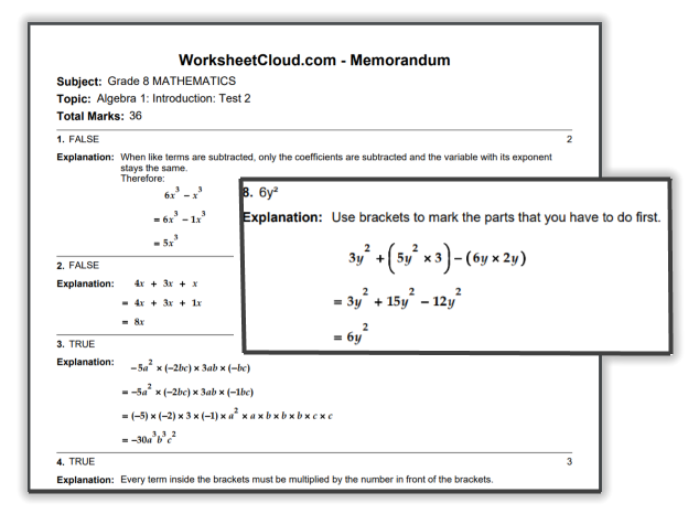 FREE Practice Exam Papers | WorksheetCloud