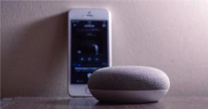 Phone and wireless speaker