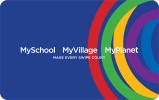MySchool MyVillage MyPlanet Card