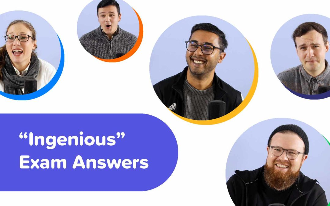 """WorksheetCloud Reacts to """"INGENIOUS"""" Exam Answers"""